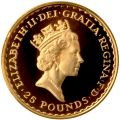 1987 Proof Gold Britannia 1/4oz