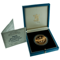 1990 Five Pound Gold Proof - Queen Mother 90th Birthday
