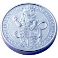Queen's Beast Lion 2oz Silver Coin