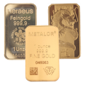 CLEARANCE - 1oz Gold Bars - Secondary Market
