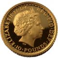 2001 Proof Tenth Gold Britannia