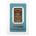 1oz Gold Bar - Valcambi Blue Certified