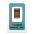 10g Gold Bar - Valcambi Blue Certified