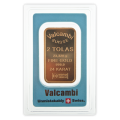2 Tola Gold Bar - Valcambi Blue Certified