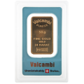 50g Gold Bar - Valcambi Blue Certified