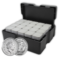 2015 Silver Britannia Monster Box (Royal Mint) 500 Coins