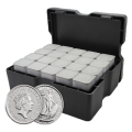 15.5kg Silver Britannia 2020 Monster Box by Royal Mint (500 Coins) from The Gold Bullion Company