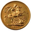 Gold Sovereign Coin (Victoria Young Head)
