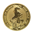 2020 1oz Gold Queen's Beast White Horse of Hanover