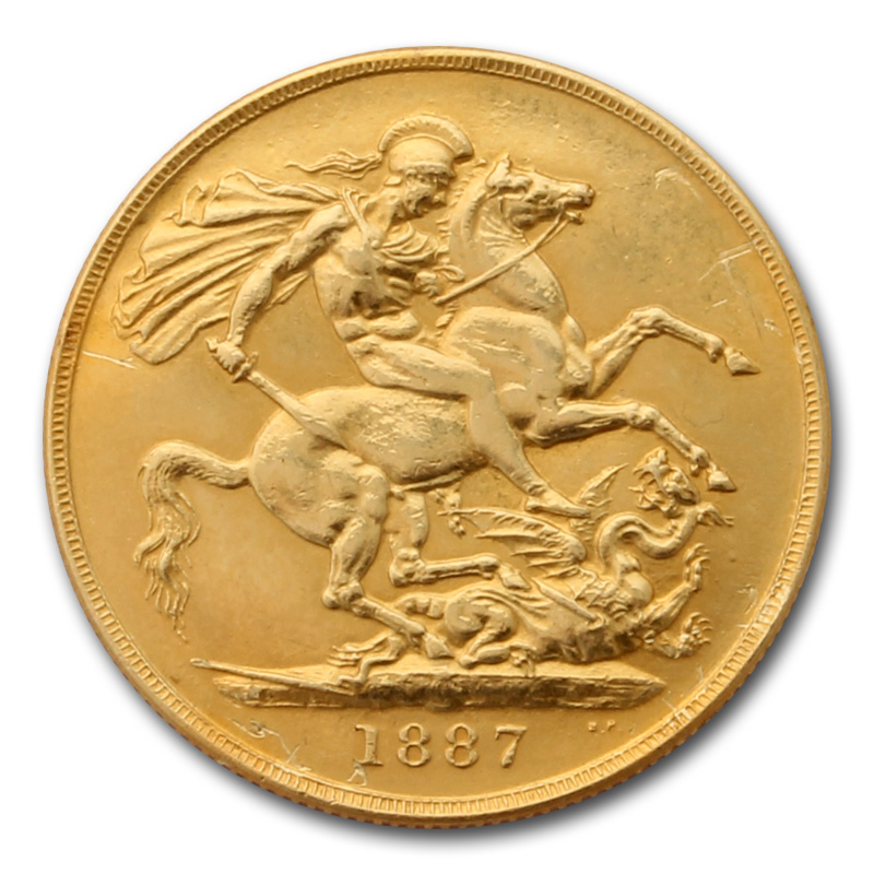 Victoria Gold Two Pound Double Sovereign Gold Bullion Co