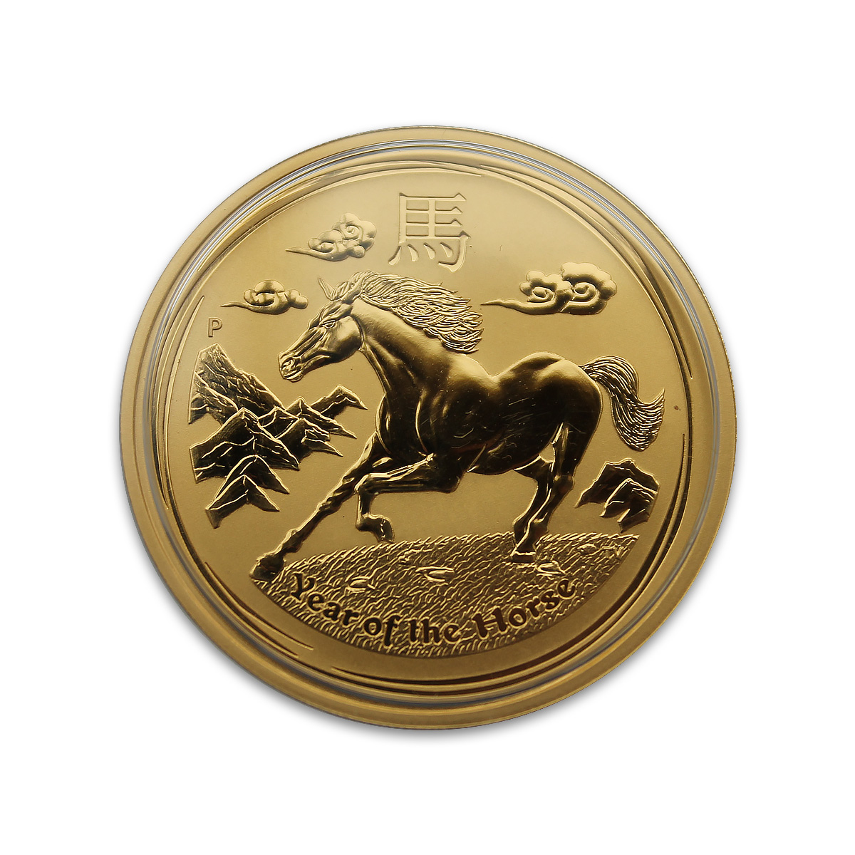 Perth Mint Lunar Year Of The Horse 1 2 Oz Gold Coin