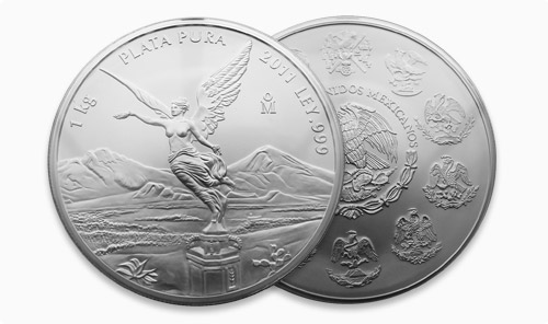 Mexican 1 kilogram Libretad Silver Bullion Coin