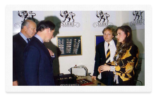 Prince Charles meet The Gold Bullion Company Directors