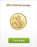 2013 Royal Mint Gold Sovereign