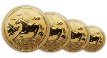 Year of the Horse 2014 Perth Mint Lunar Coins now available